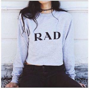 Brandy Melville Rad Sweater Crop Top